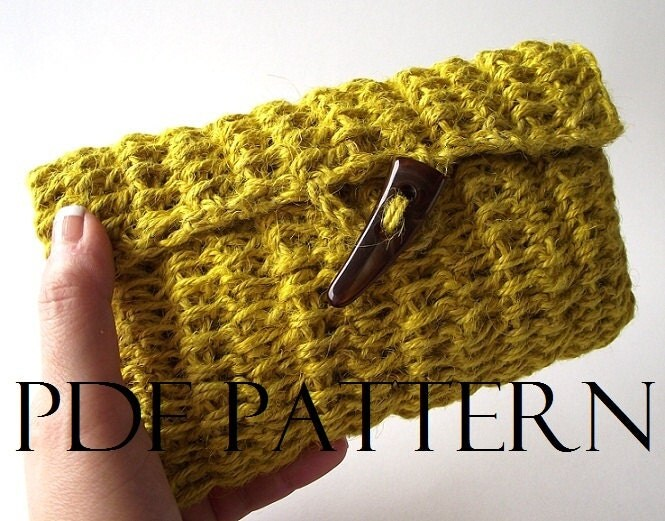 Crochet Clutch Bag Pattern : CROCHET PATTERN BAG Simply Sweet Clutch Bag by LiliaCraftParty