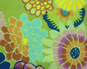 Kaffe Fassett - Asian Circles Chartreuse - 1/2 Yard Cotton Quilt fabric 516