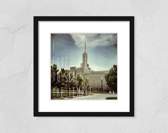 Mt Timpanogos Temple Print I Love to see the Temple printable