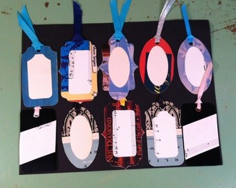 Upcycled Gift Tags #3