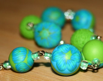 Imagination -  Polymer Clay Bracelet
