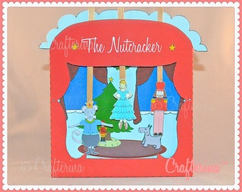 Nutcracker Puppet Theater Printable PDF Kit - DIY Craft - Party Favor- Child Toy - Play & Pretend