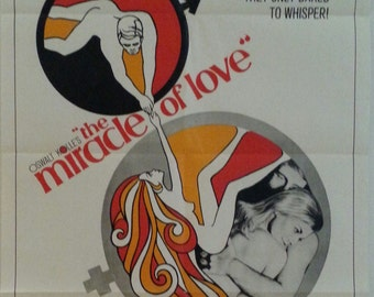 Original movie poster for The Miracle of Love by Oswalt Kolle