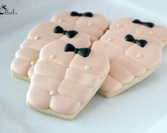 Chippendale/Magic Mike Decorated Sugar Cookie Favors 1 Dozen
