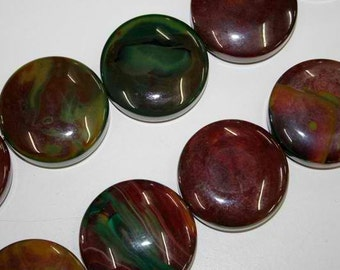 Agate 45mm , 8 pieces   Item-No. 01-504-10