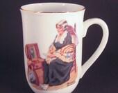Norman Rockwell Collectible Mug, Memories