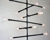 Industrial Pipe Pendant Lamp