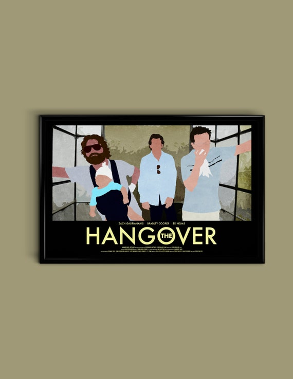 The Hangover 11 x 17 Minimalist Movie Poster