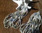 """RESERVED for Shannon ... The """" oceana """" earrings... Native style seed beads"""