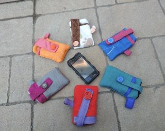 étui cellulaire iphone, blackberry ou ipod votre choix de couleur