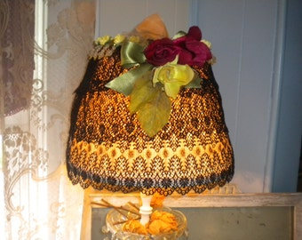 CLEARANCE>>>>>OOAK French/Victorian Boudoir Lamp Shade