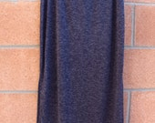 Long navy shirt