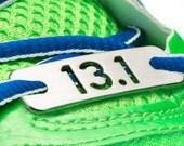13.1 or 26.2 - Running Shoe Tag - Half-Marathon or Marathon