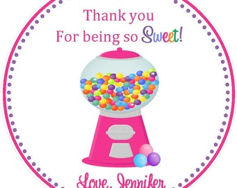 Sweet Shoppe Favor Tag