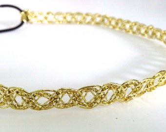 SALE // Gold Decorative Headband