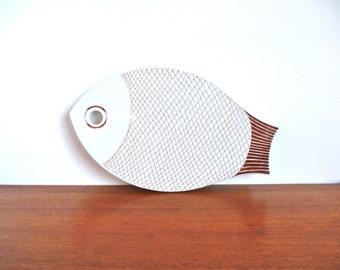 Mid Century Arabia Finland Fish Trivet