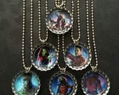 12 Guardians of the Galaxy Bottle Cap Party favors / 2 of each image shown / May 5th