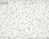 11/0 TOHO seed beads 10g Toho beads 11/0 seed beads White Opaque 11-41 White seed beads last