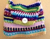 Crochet Messenger bag pattern instant digital download
