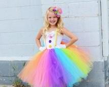clown costume, photo prop, halloween costume, tulle costume, dance costume