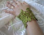 Wedding Jewelry, Bridal Bracelet, Cuff Bracelet,  flower girl, lariat jewelry, bridesmaid gifts, Bridal accessories, wedding Accessories