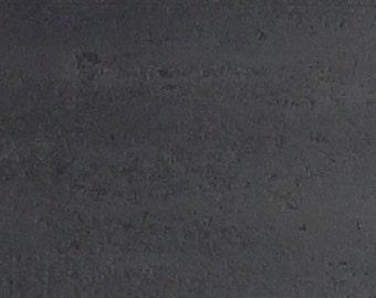 waxed steel sample