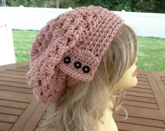 Womens Hat Crochet Slouchy Hat Crochet Beanie Winter Hat Woman Slouchy Hat Winter Accessories
