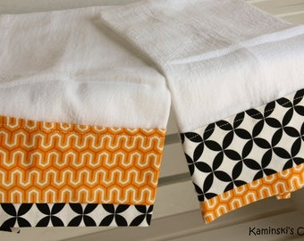 Kitchen Hand Towels, Set of 2 Tea Towels