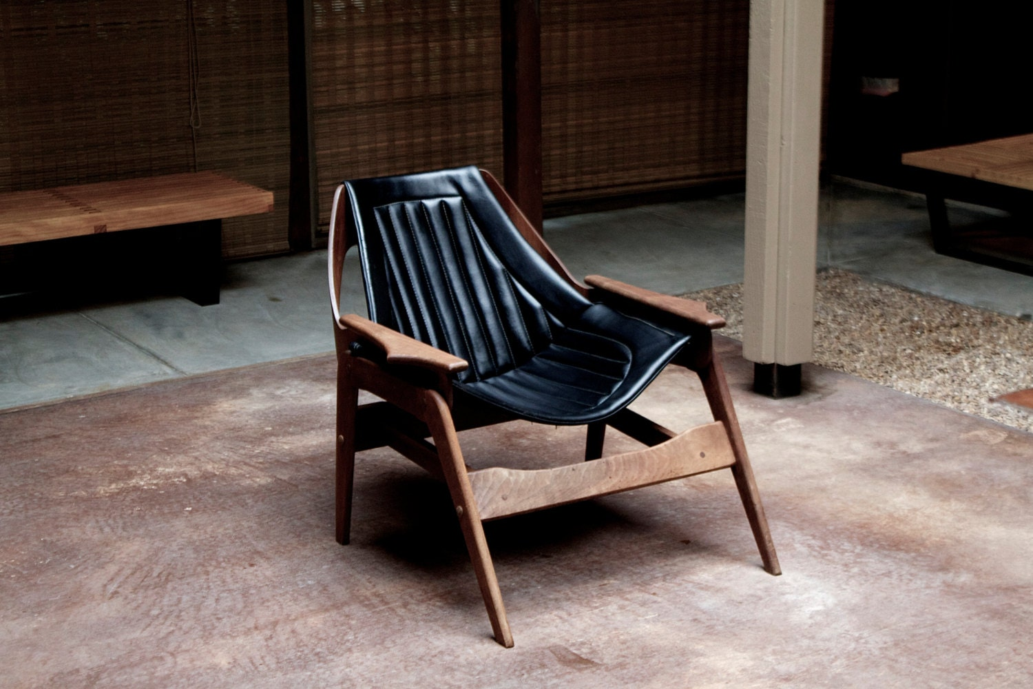 Reservedrare Vintage Mcm Jerry Johnson Sling Chair