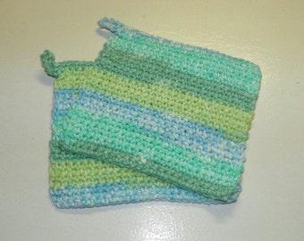 Crocheted Pot Holder set