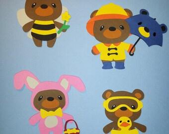 Spring Teddy Bears