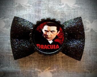 Dracula Hair Bow