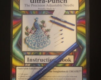 Cameo Ultra Punch Needle Medium Needle Instructions and Threader