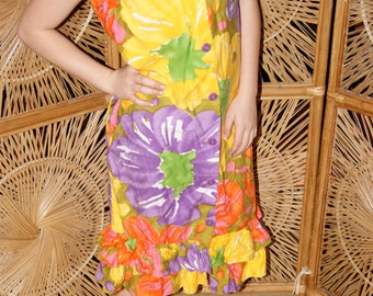 Too cute 1960's Sun Fashions of Hawaii  dress