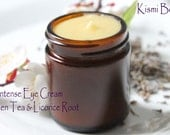 Intense Eye Cream / Dark Circles/ Puffy Eyes/ Dry Skin/ Smoothes Fine Lines/Bright Eyes/ Beeswax/ Green Tea/ Licorice Root/