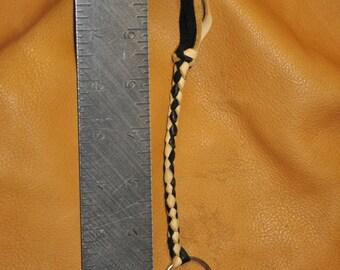 Braided Leather Key Chain