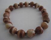 RESERVED FOR KEN Red Onyx Bead Bracelet for Dudes, Women Teens Boho Bracelet