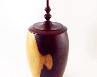 Wood Urn No.131105- Cocobolo