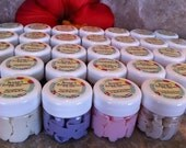 SPA Favors Body Butters 40 piece set personalize labels Wedding Bridal Baby Shower Birthday party bachelorette gift bags Pura Gioia