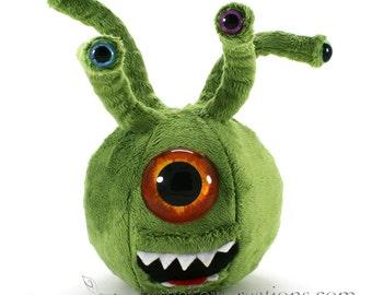Plush Monster - Evil Eye