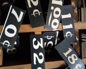Antique Price Tags | Vintage General Store Display Signs | One Dozen