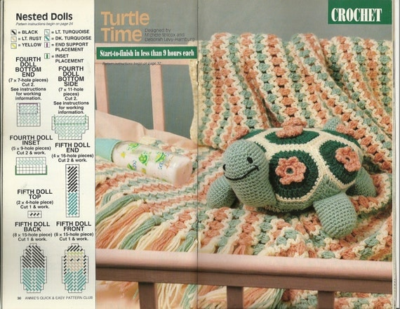 Crochet Turtle Pattern Plastic Canvas Leaf Coasters Pattern