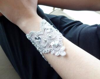 Rhinestone Bracelet, Wedding Cuff Bracelet Wedding Jewelry, Bridal Accessories,