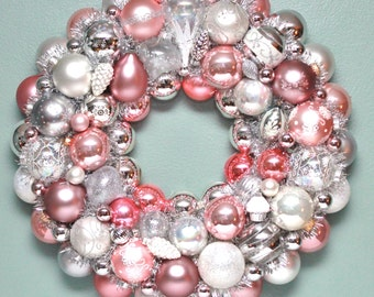 Pink Christmas curated by WedLuxe on Etsy