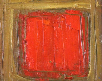 Original Abstract Modern Square Painting