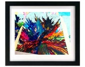 11 x 8.5 Abstract Expressionism Signed Art Print