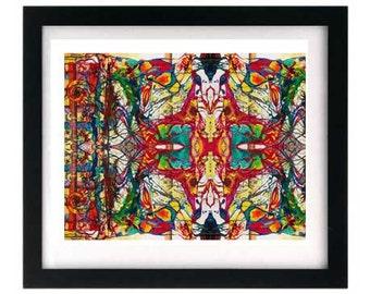 11 x 8.5 Psychedelic Fractal Giclée Print