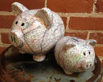 The Original Road Trip Fund Ceramic Piggy Bank - Jumbo / Extra Large