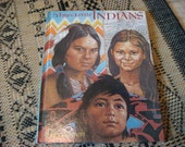 1974 Three Little Indians Book Nat Geo Book Cheyenne Indians Creek Native Americans Tepee First Nation