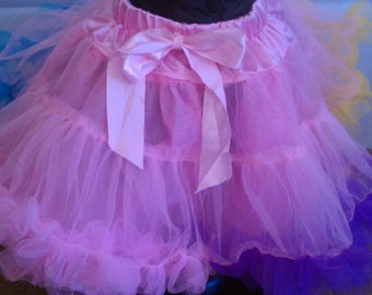 Pastel Pettiskirt for Girls 2 yrs.-7 yrs. ~fun for dress-up, dance, casual, etc.